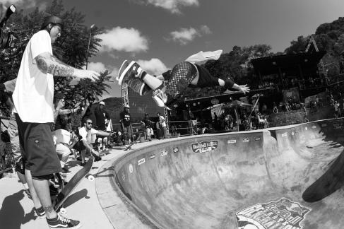 Christian Hosoi, grande conhecedor das pistas de skate do Brasil. Foto: Haruo Kaneko