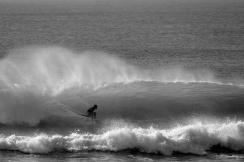 O RTMF Netto Moura, um dos que ensinou Pedro Barros a pegar onda. Foto: Marcio David