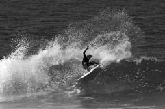 Tiago Bianchini, local da Joaca e ícone do surf da ilha. Foto: Marcio David
