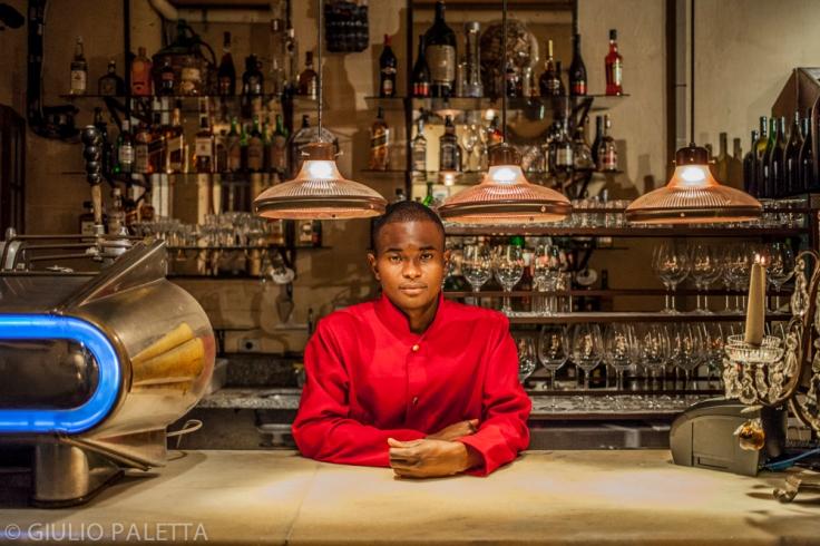 Jacson, 24 years old. He works as bartender at Vicolo Nostro, an Italian restaurant in Brooklin neighbourhood in São Paulo, Brazil